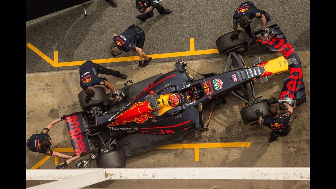 Max Verstappen - Red Bull RB13 - Barcelona - Testahrten
