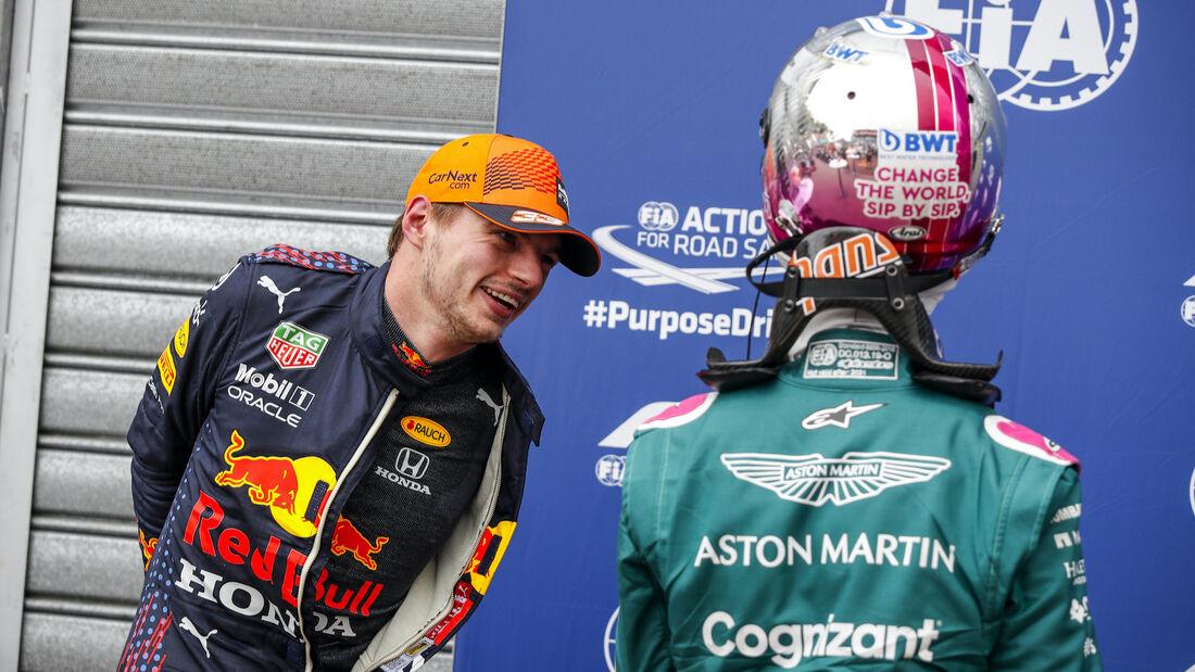 Max Verstappen - Sebastian Vettel - Formel 1 - GP Monaco - 22. Mai 2021