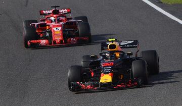 Max Verstappen - Sebastian Vettel - GP Japan 2018 - Suzuka - Rennen