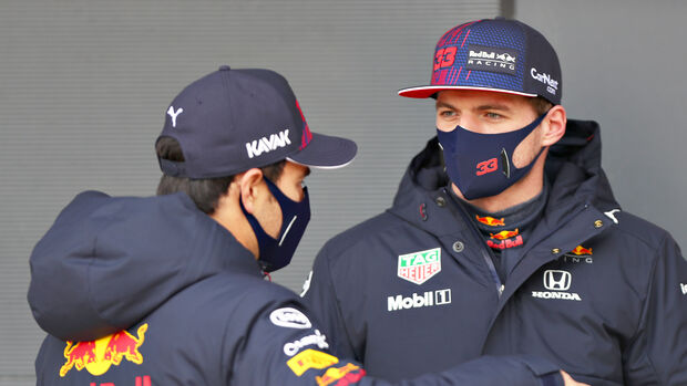 Max Verstappen & Sergio Perez - Red Bull - 2021