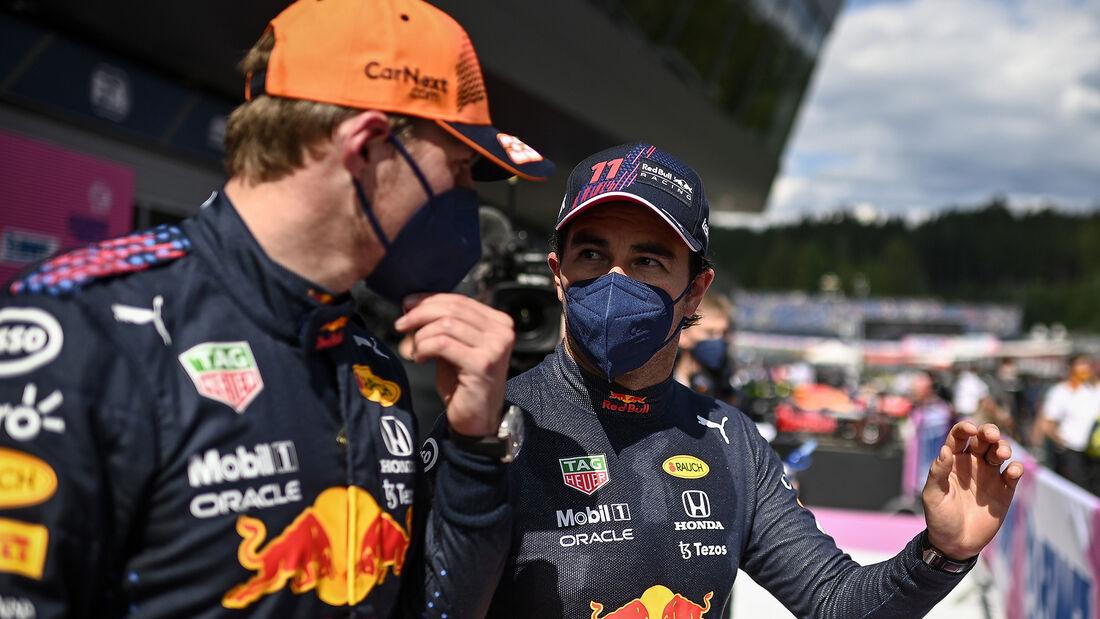 Max Verstappen - Sergio Perez - Red Bull - GP Österreich 2021 - Spielberg