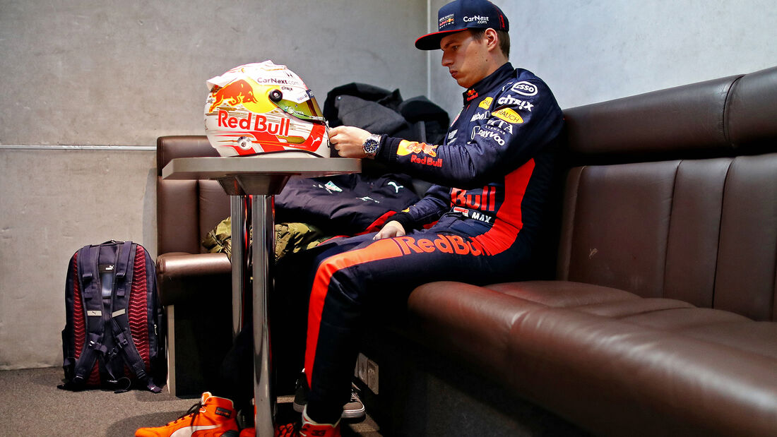 Max Verstappen - Shakedown Silverstone - F1 2020