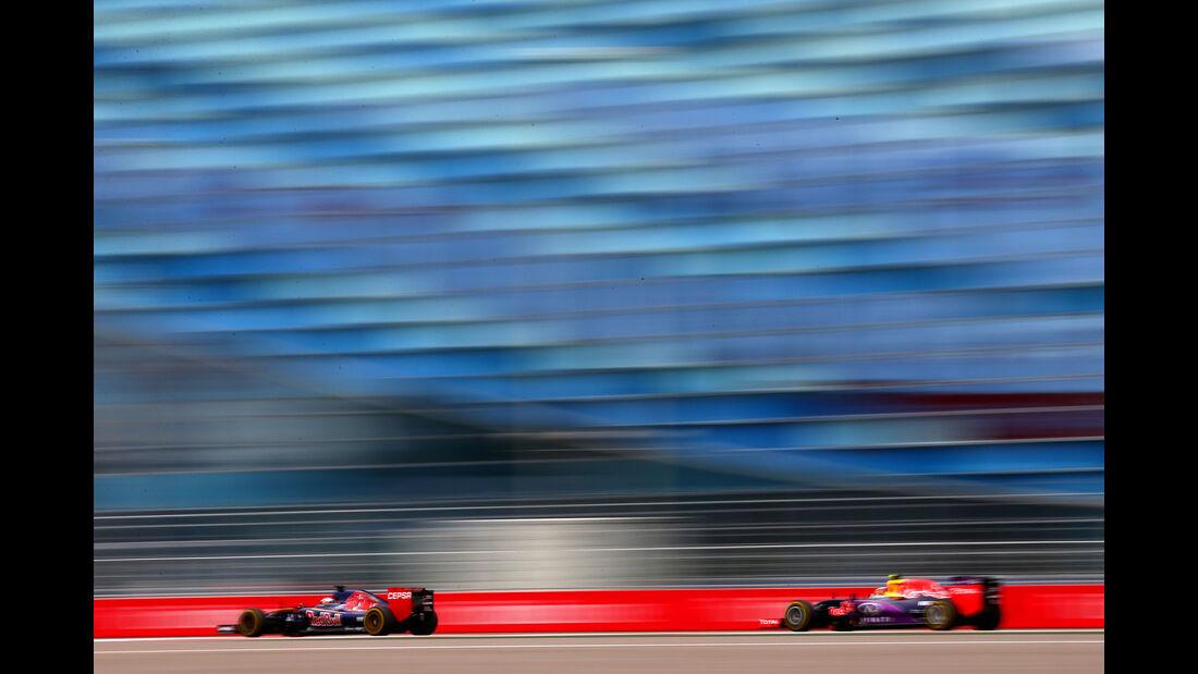 Max Verstappen - Toro Rosso - Daniil Kvyat - Red Bull - GP Russland - Sochi - Freitag - 9.10.2015