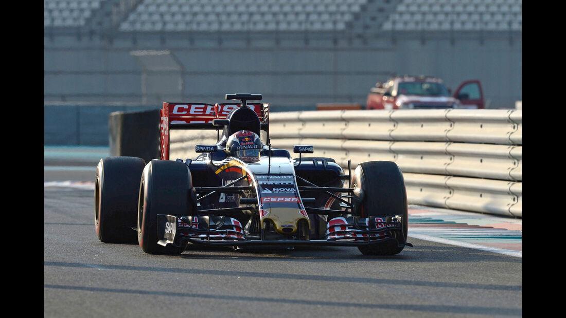 Max Verstappen - Toro Rosso - F1 Test - Abu Dhabi - Dienstag - 1.12.2015