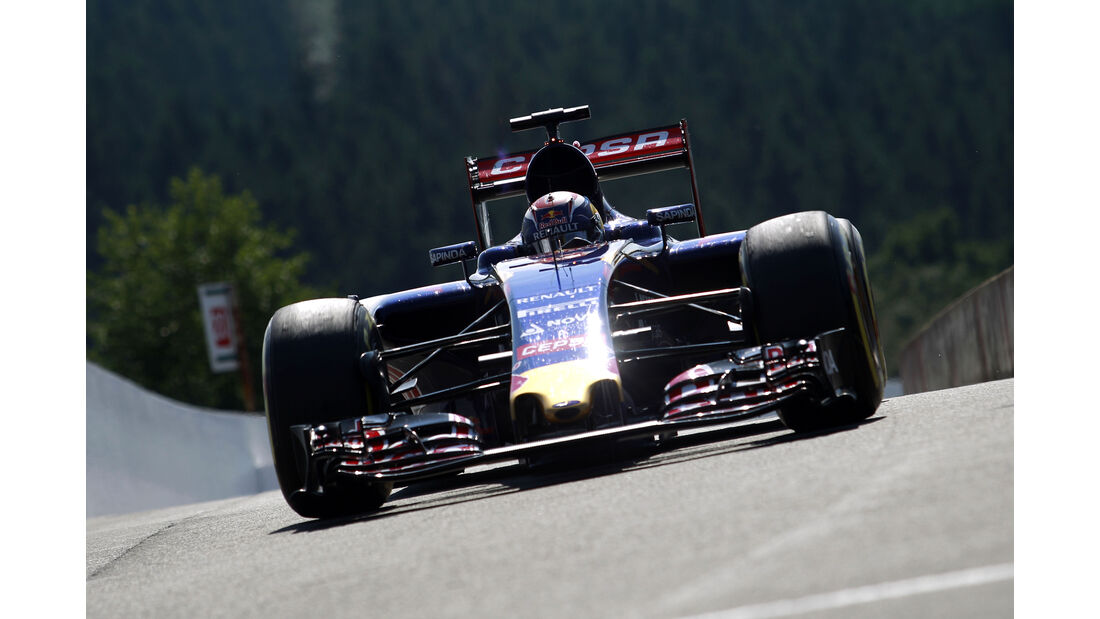 Max Verstappen - Toro Rosso - Formel 1 - GP Belgien - Spa-Francorchamps - 22. August 2015