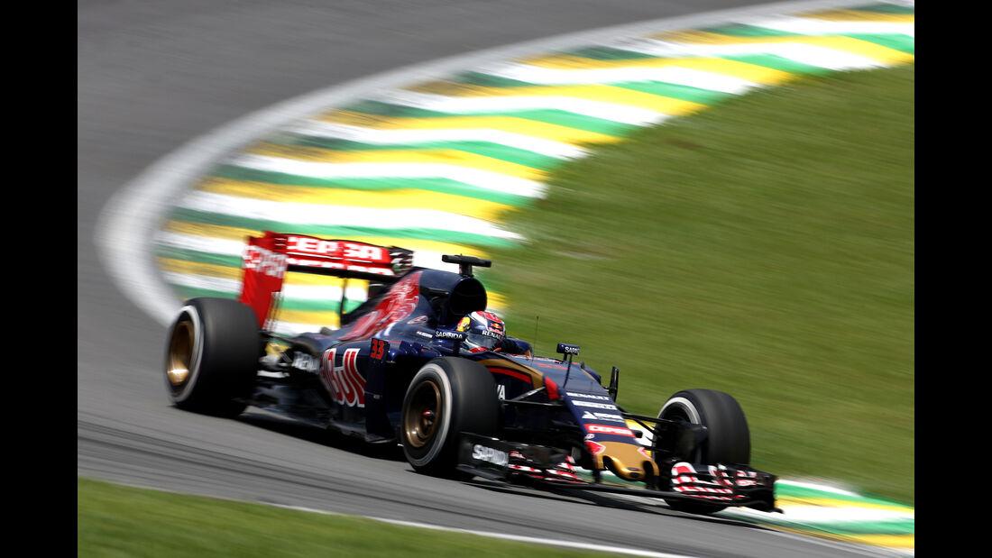 Max Verstappen - Toro Rosso - Formel 1 - GP Brasilien- 14. November 2015