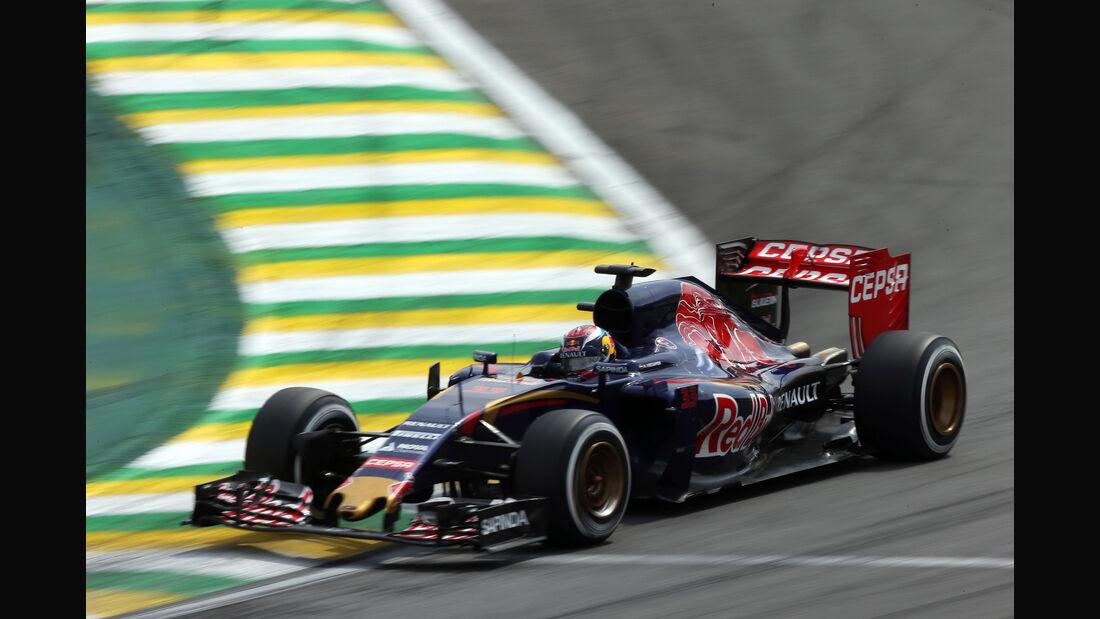 Max Verstappen - Toro Rosso - Formel 1 - GP Brasilien- 15. November 2015