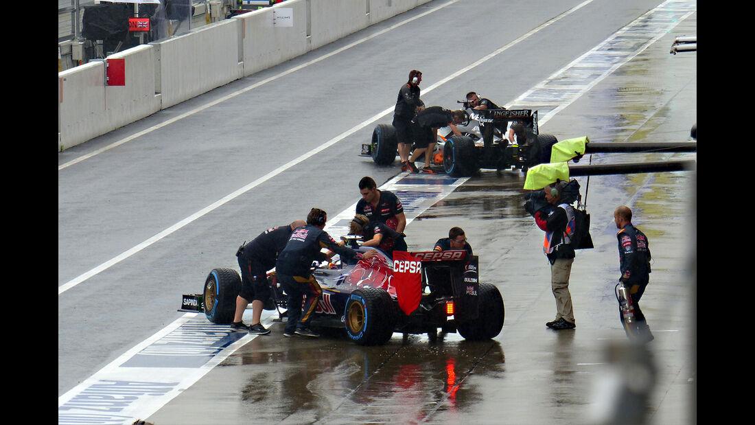 Max Verstappen - Toro Rosso - Formel 1 - GP Japan - Suzuka - 25. September 2015