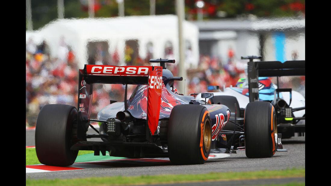 Max Verstappen - Toro Rosso - Formel 1 - GP Japan - Suzuka - 26. September 2015