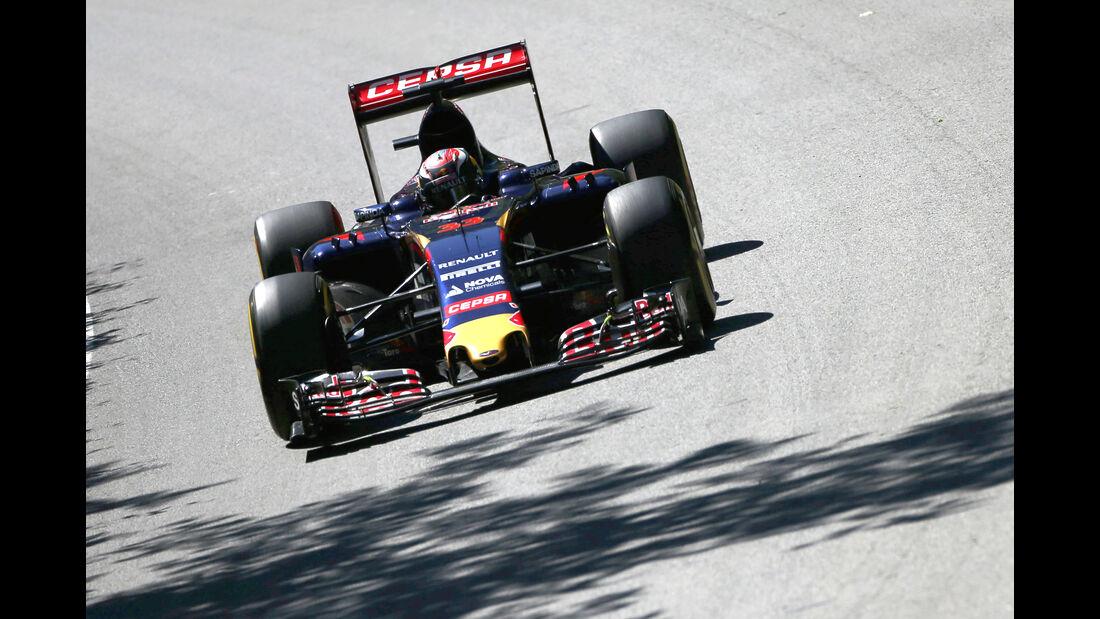 Max Verstappen - Toro Rosso - Formel 1 - GP Kanada - Montreal - 6. Juni 2015
