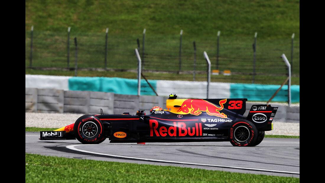 Max Verstappen - Toro Rosso - Formel 1 - GP Malaysia - Sepang - 30. September 2017
