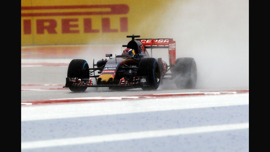Max Verstappen - Toro Rosso - Formel 1 - GP USA - Austin - Formel 1 - 24. Oktober 2015