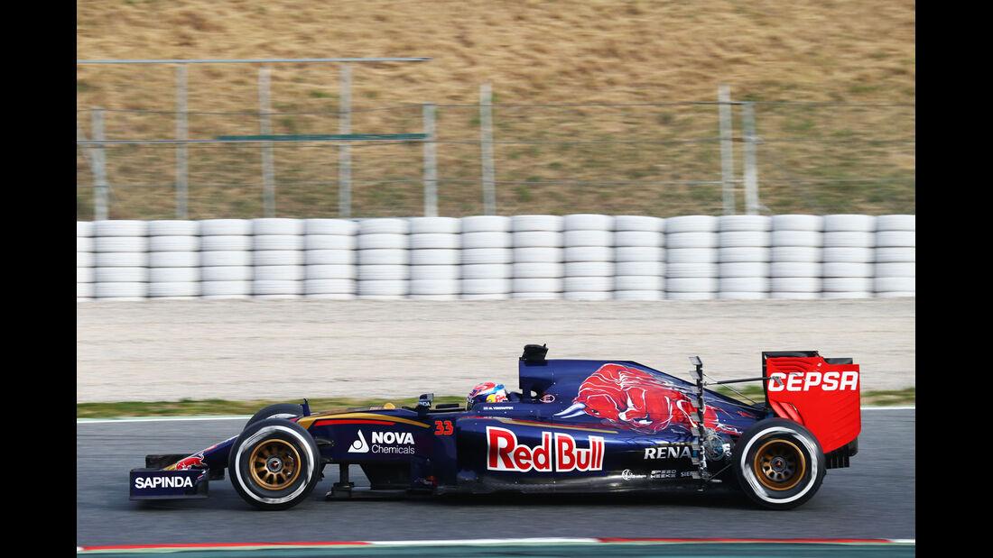 Max Verstappen - Toro Rosso - Formel 1-Test - Barcelona - 1. März 2015