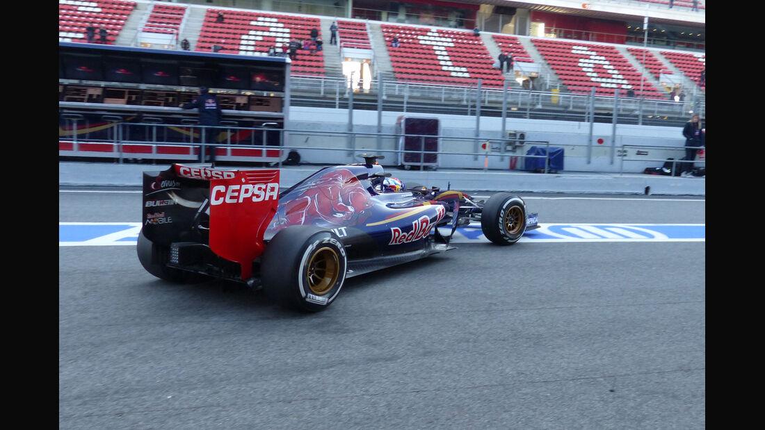 Max Verstappen - Toro Rosso - Formel 1-Test - Barcelona - 19. Februar 2015