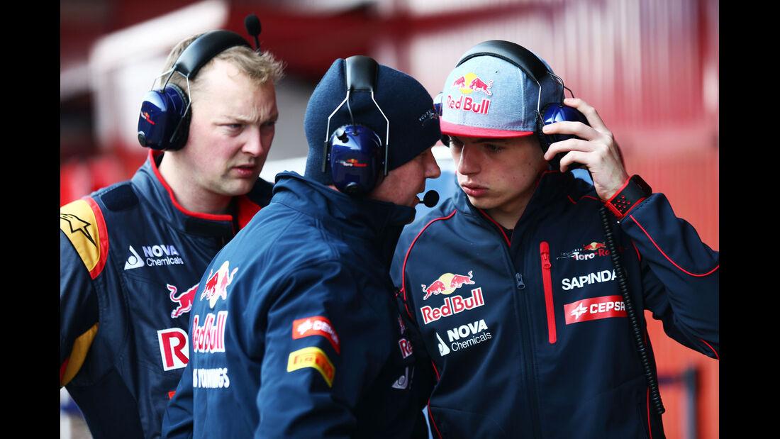 Max Verstappen - Toro Rosso - Formel 1-Test - Barcelona - 20. Februar 2015