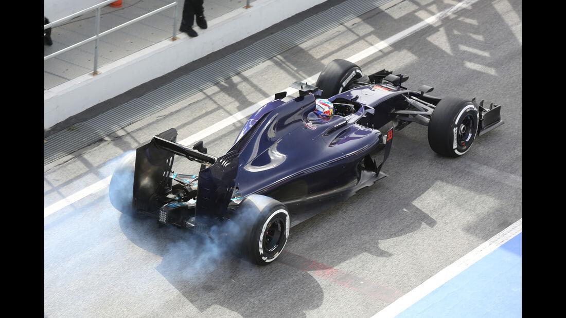 Max Verstappen - Toro Rosso - Formel 1-Test - Barcelona - 23. Februar 2016