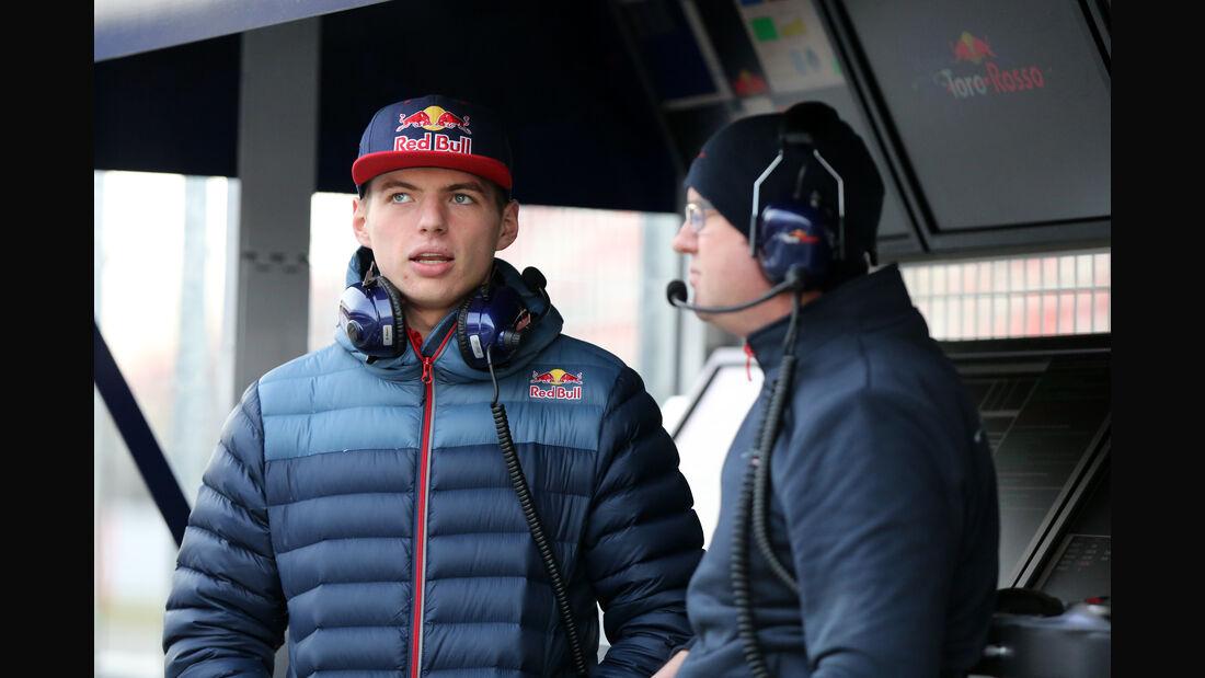 Max Verstappen - Toro Rosso - Formel 1-Test - Barcelona - 24. Februar 2016