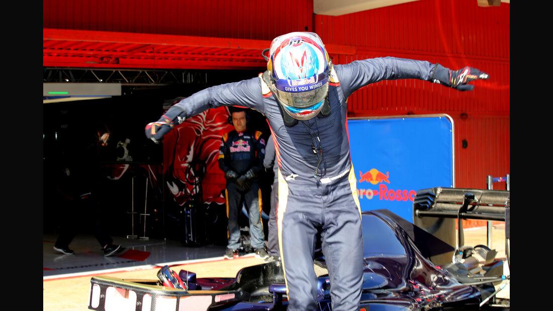 Max Verstappen - Toro Rosso - Formel 1-Test - Barcelona - 25. Februar 2016