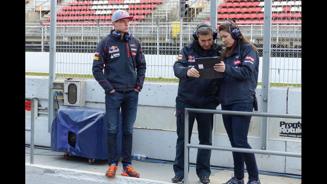 Max Verstappen - Toro Rosso  Formel 1-Test - Barcelona - 26. Februar 2015