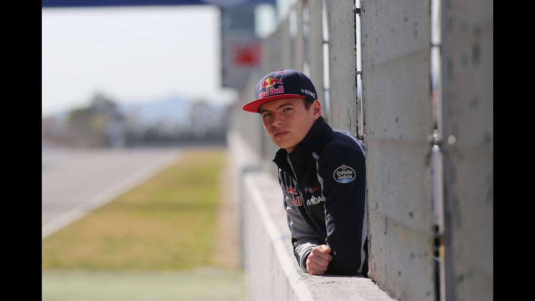 Max Verstappen - Toro Rosso - Formel 1-Test - Barcelona - 4. März 2016