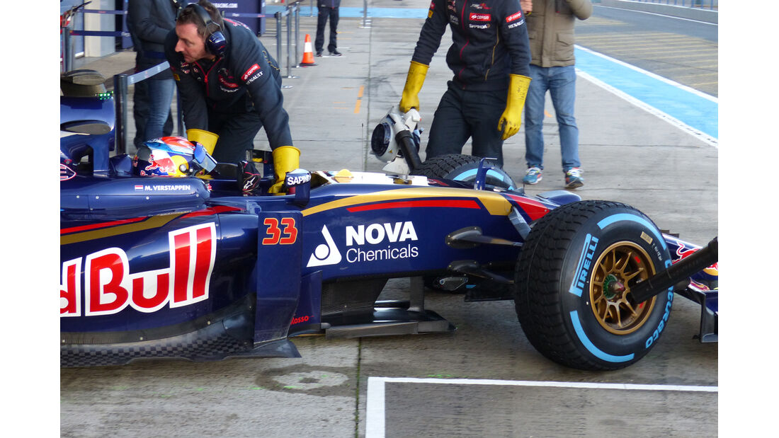 Max Verstappen - Toro Rosso - Formel 1-Test - Jerez - 4. Februar 2015