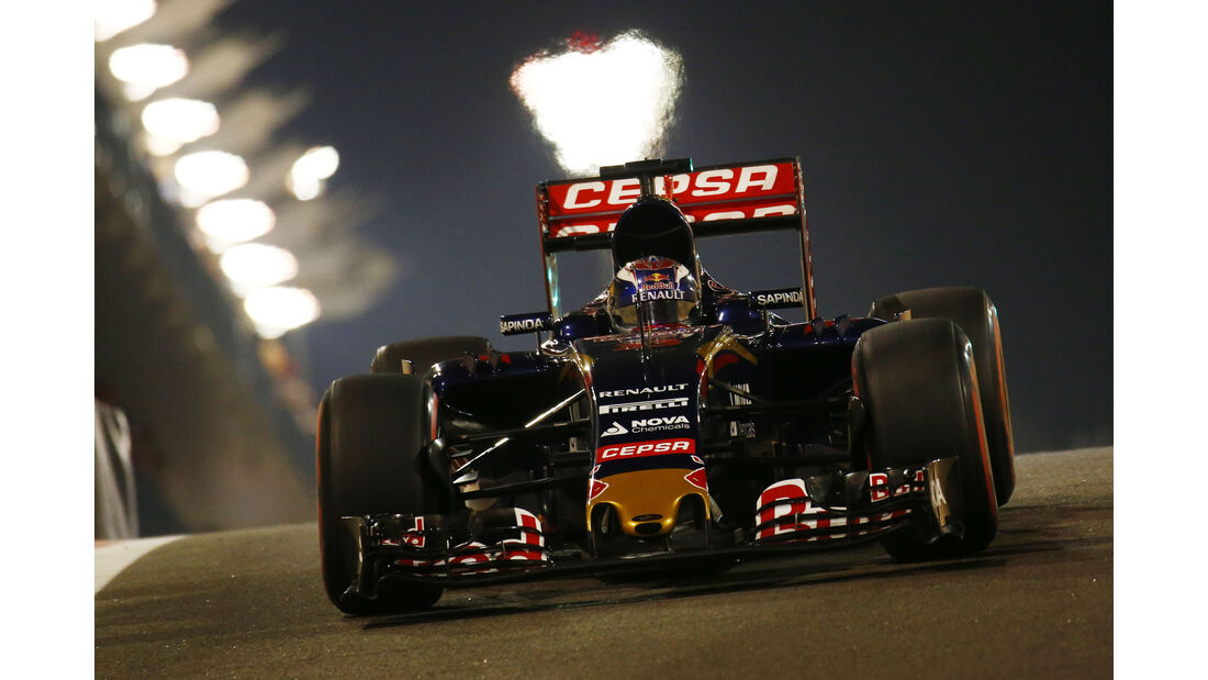 Max Verstappen - Toro Rosso - GP Abu Dhabi 2015