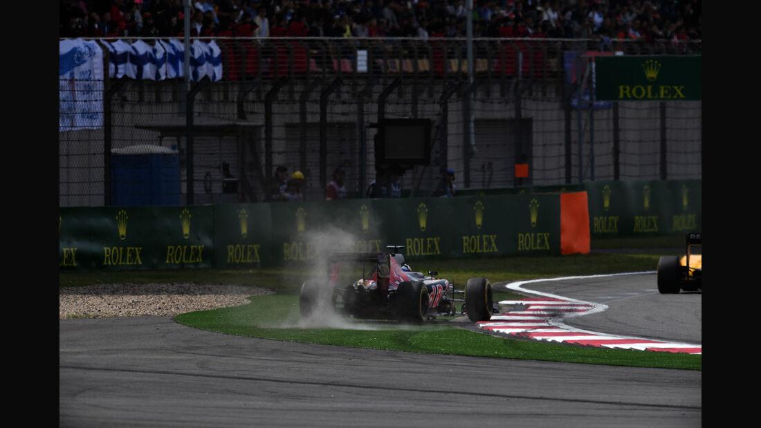 Max Verstappen - Toro Rosso - GP China 2016 - Shanghai - Rennen