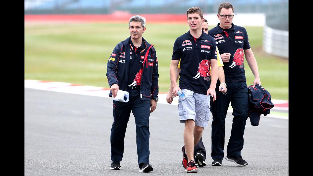 Max Verstappen - Toro Rosso - GP England - Silverstone - Donnerstag - 2.7.2015