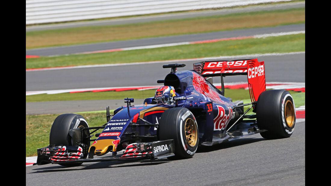 Max Verstappen - Toro Rosso - GP England - Silverstone - Qualifying - Samstag - 4.7.2015