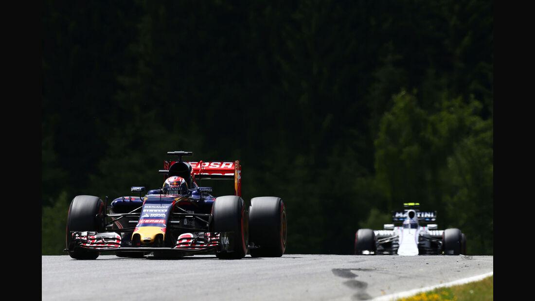 Max Verstappen - Toro Rosso - GP Österreich - Formel 1 - Sonntag - 21.6.2015