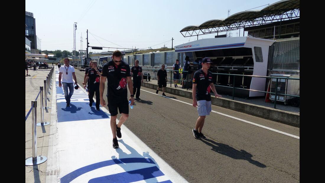 Max Verstappen - Toro Rosso - GP Ungarn - Budapest - Donnerstag - 23.7.2015