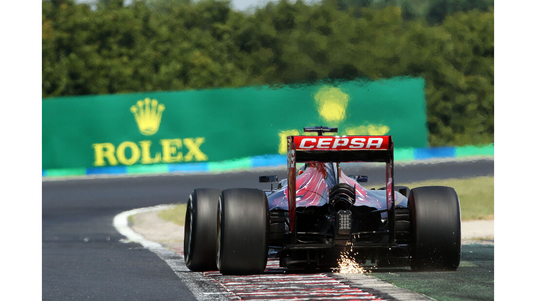 Max Verstappen - Toro Rosso - GP Ungarn - Budapest - Qualifying - Samstag - 25.7.2015