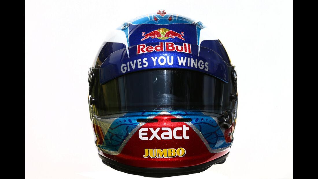 Max Verstappen - Toro Rosso - Helm - Formel 1 - 2016