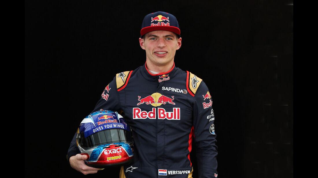 Max Verstappen - Toro Rosso - Porträt - Formel 1 - 2016
