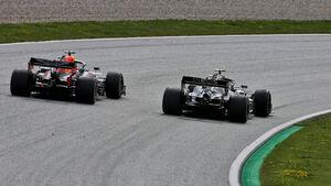 Max Verstappen - Valtteri Bottas - Formel 1 - GP Steiermark 2020 - Spielberg - Rennen