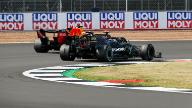 Max Verstappen - Valtteri Bottas - GP 70 Jahre F1 - Silverstone