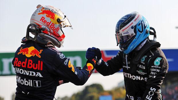 Max Verstappen & Valtteri Bottas - GP Italien 2021