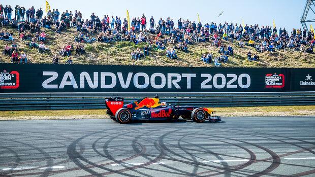 Max Verstappen - Zandvoort - Showrun - Red Bull - 2019
