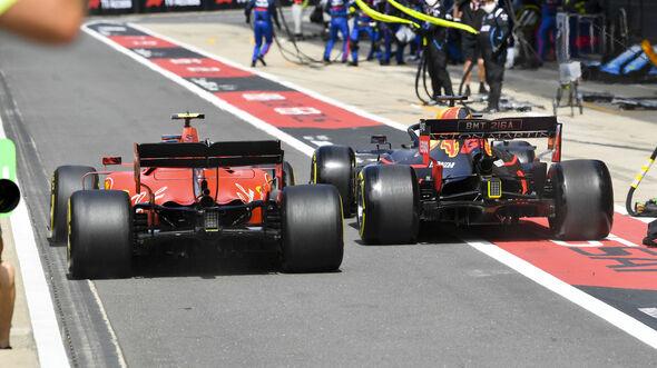 Max Verstappen vs. Charles Leclerc - GP England 2019