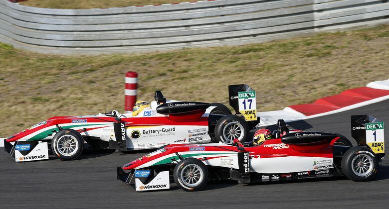 Maximilian Günther & Lance Stroll - Formel 3 EM 2016