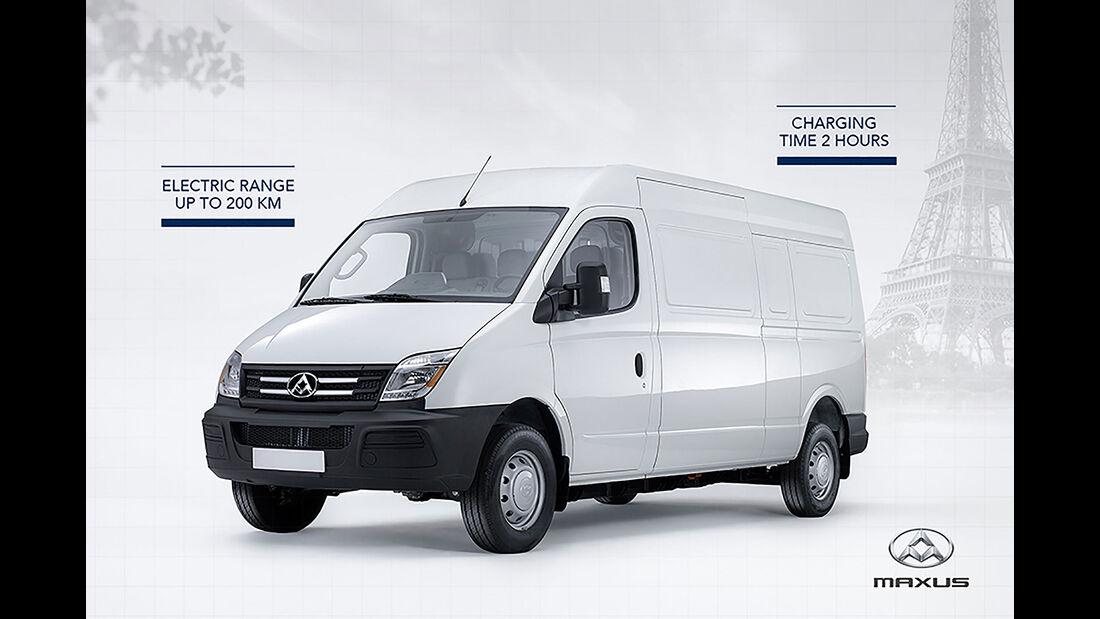 Maxus EV80 Panel Van