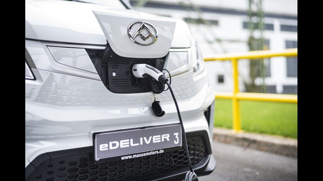 Maxus eDeliver 3 Elektro Kastenwagen Transporter Premiere