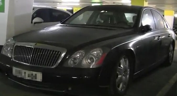 Maybach 57 Garage
