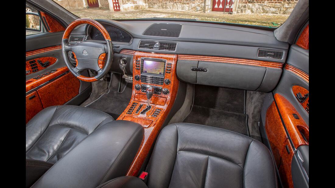 Maybach 62, Cockpit