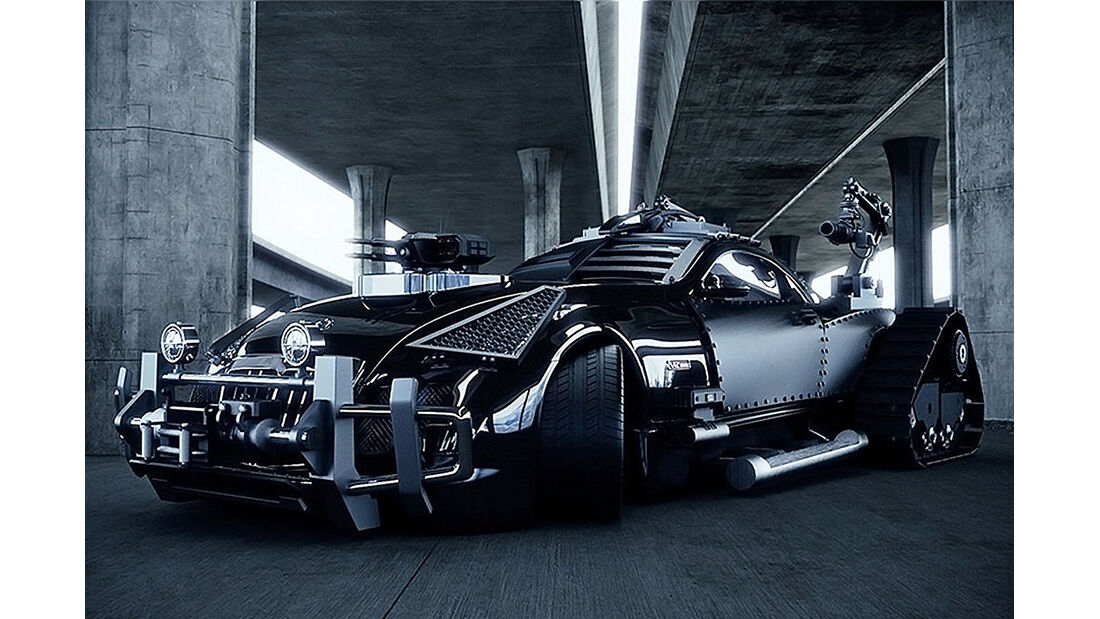 Maybach Exelero by Khaled Alkayed