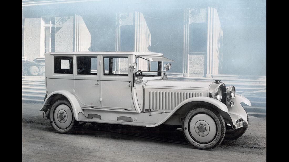 Maybach W3, 1923