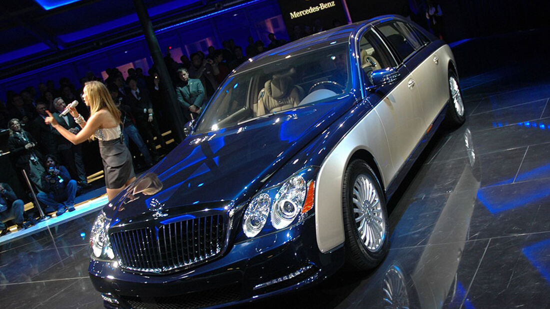 Maybach auf der Auto China 2010