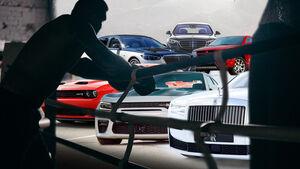 Mayweather Fuhrpark Rolls Dodge Mercedes