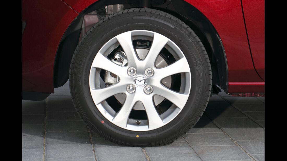 Mazda 2 1.3, Felge