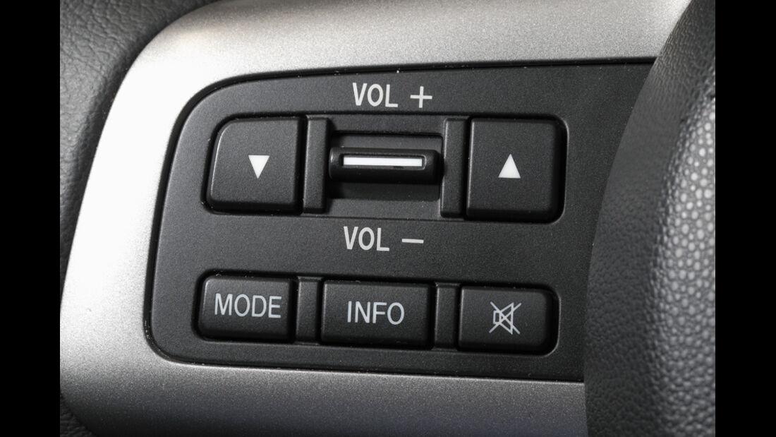 Mazda 2 1.3, Regler